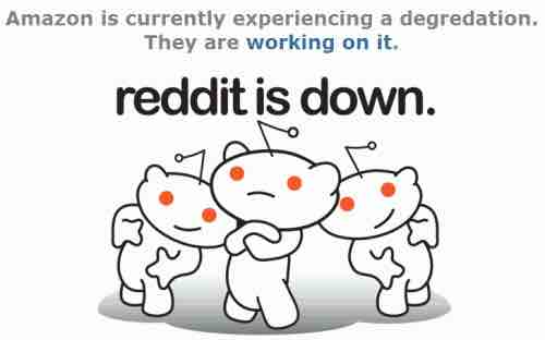 reddit aws outage